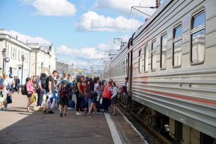 Ulan-Ude Bahnhof