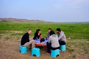 Abend in der Gobi