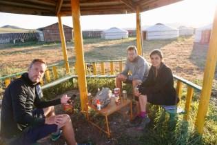 Feierabend in der Mongolei