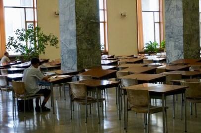 Saal einer Bibliothek