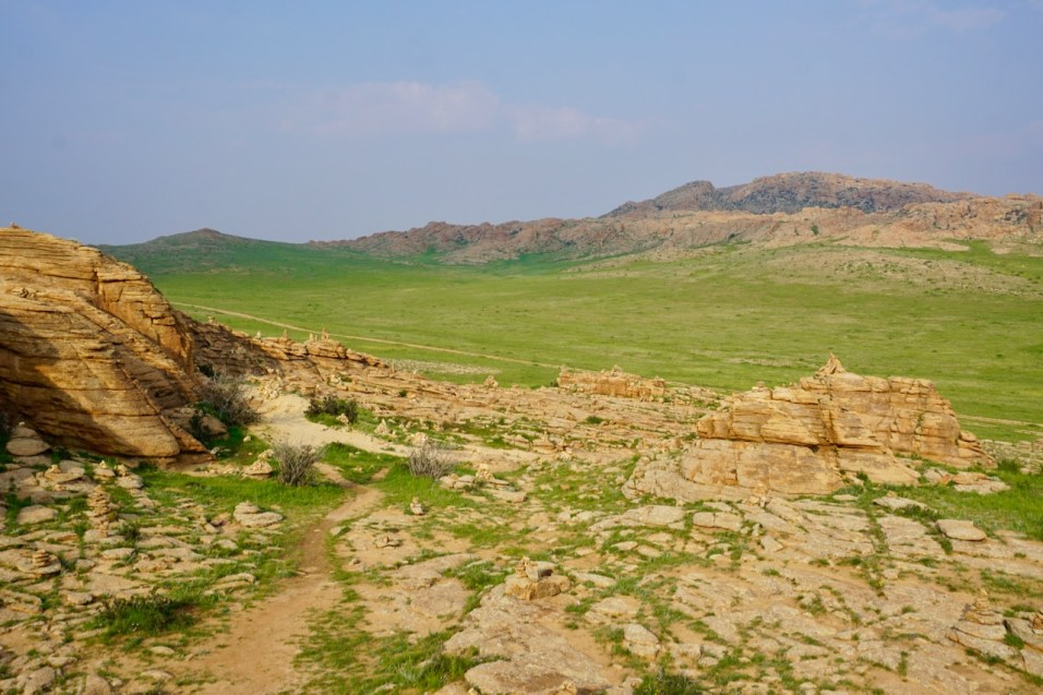 Felsformation Gobi-Wüste
