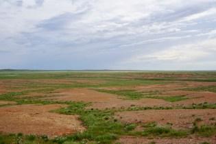 Gobi-Wüste im August