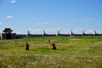 Mongolische Mönche