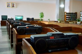 Musik-Raum in Pjöngjang