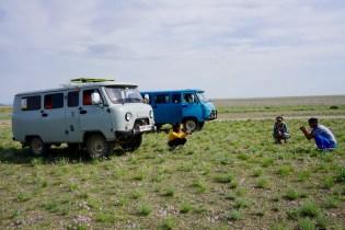 Mit dem Auto durch die Mongolei