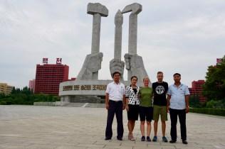 In Nordkorea kann man nur mit Führung reisen