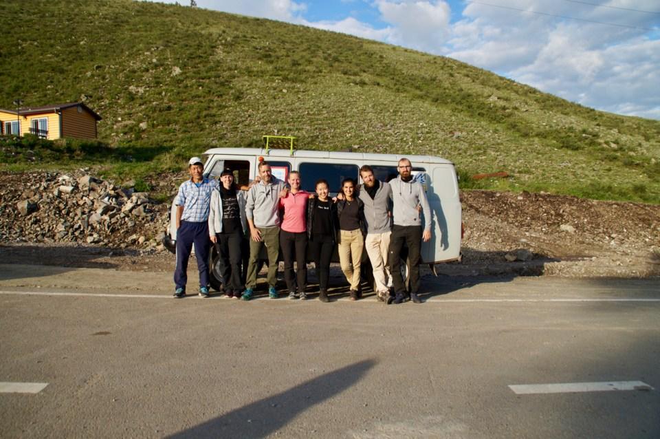 Reisegruppe Mongolei