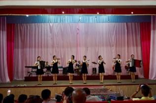 Musikerrinnen in Nordkorea