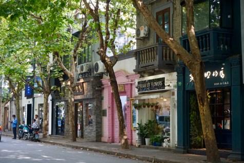Boutiquen in Shanghai