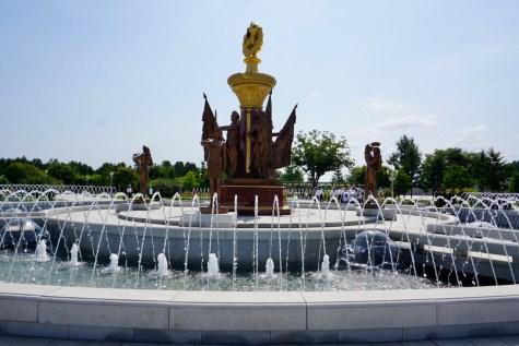 Springbrunnen am Palast