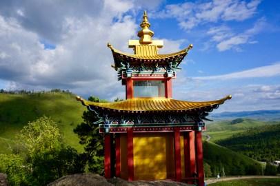 Mongolischer Tempel