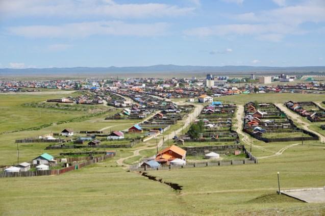 Stadt in Zentralmongolei
