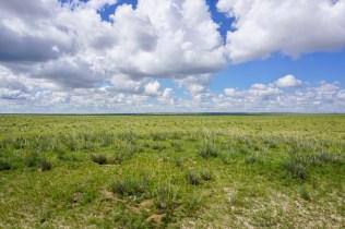 Wolkenbild in der Mongolei
