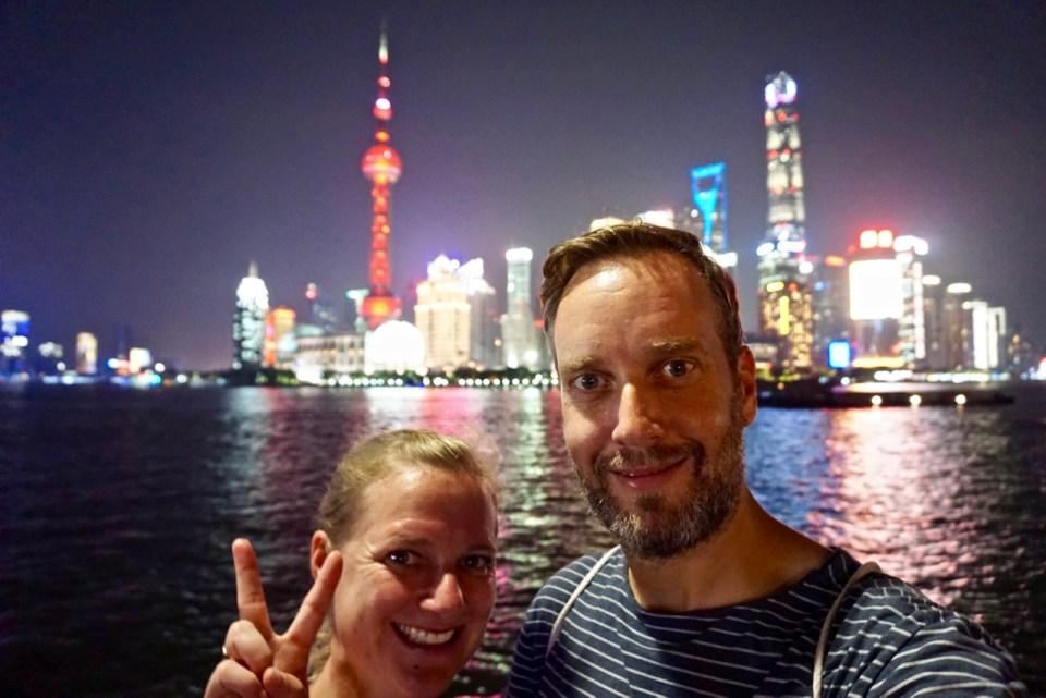 Gruppenfoto in Shanghai