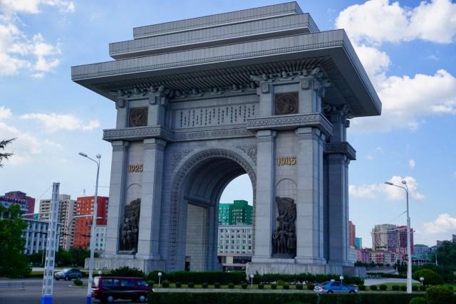 Prächtige Bauwerke in Nordkorea
