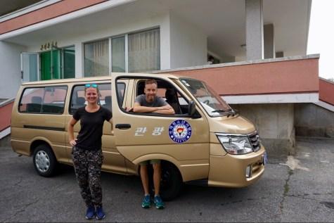 Minibus-Tour durch Nordkorea