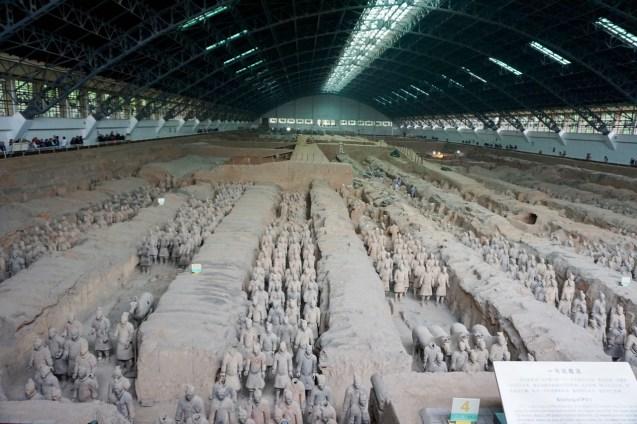 Halle 1 der Terrakotta-Armee