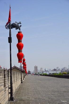 Stadtmauer in Shaanxi