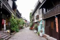 Wohnstraße in Fenghuang