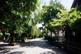 Wohnstraße in Yunnan