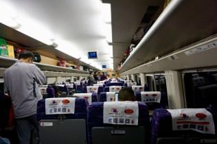 Zugfahrt in China
