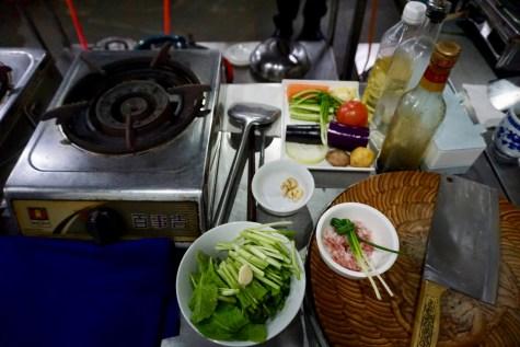 Kochen mit Wok