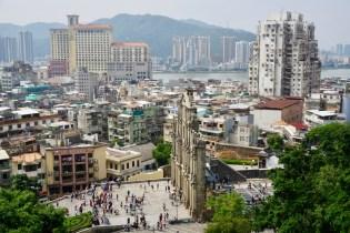Macau von oben