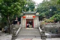 Tempel-Eingang
