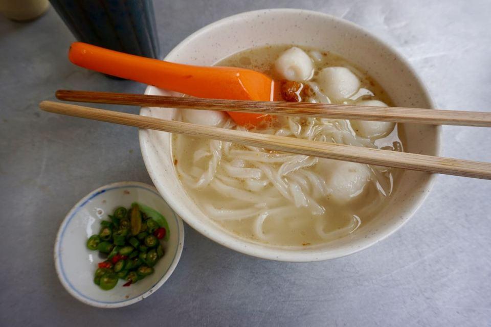 Street Food Nudelsuppe