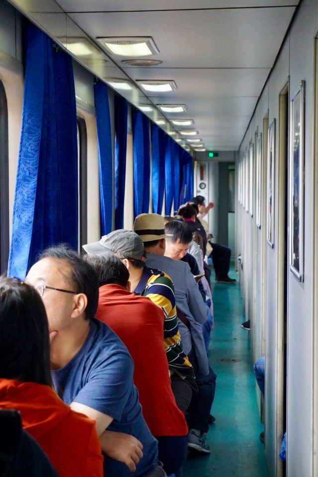 Zugfahrt in Yunnan