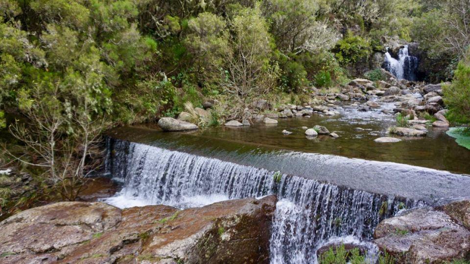 Risco-Wasserfall auf Madeira
