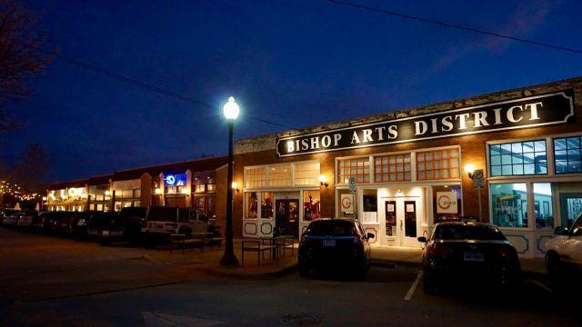 Bishop Arts District Dallas Texas