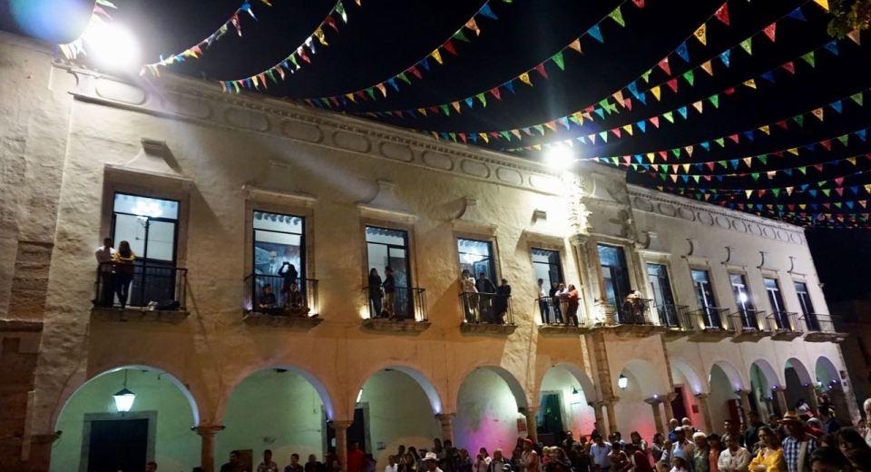 Valladolid am Abend
