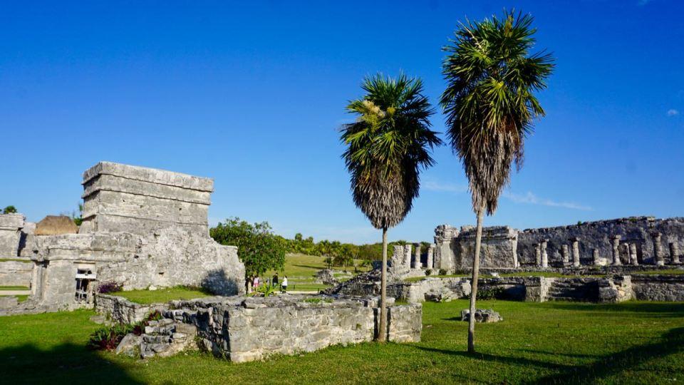 Ruinen-Anlagen in Mexiko