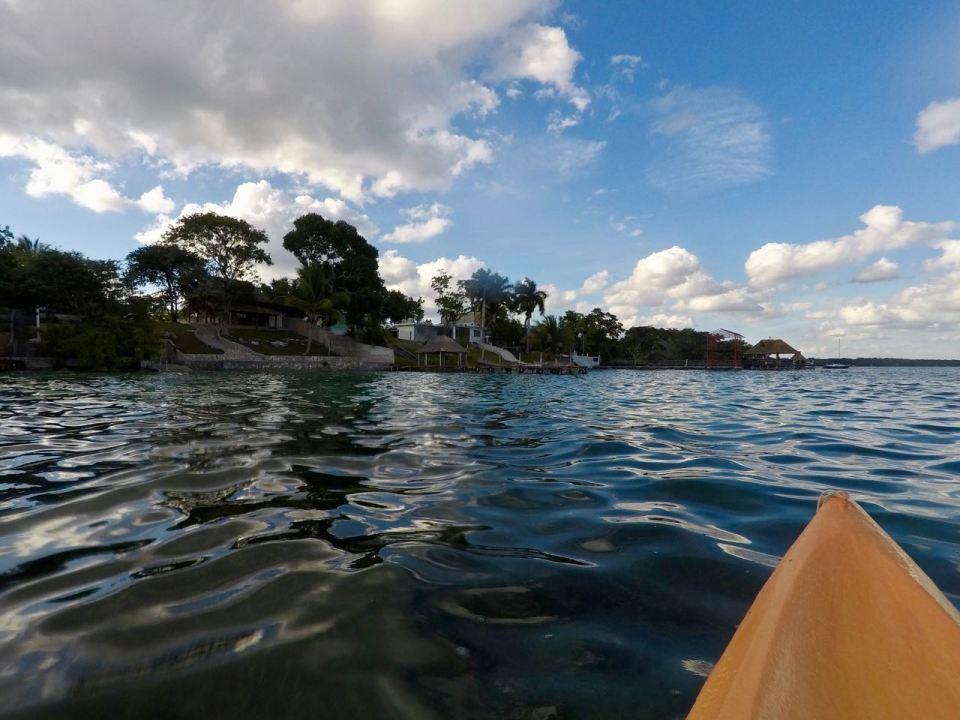 Kayak-Fahren in Mexiko