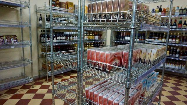 Supermarkt in Havanna