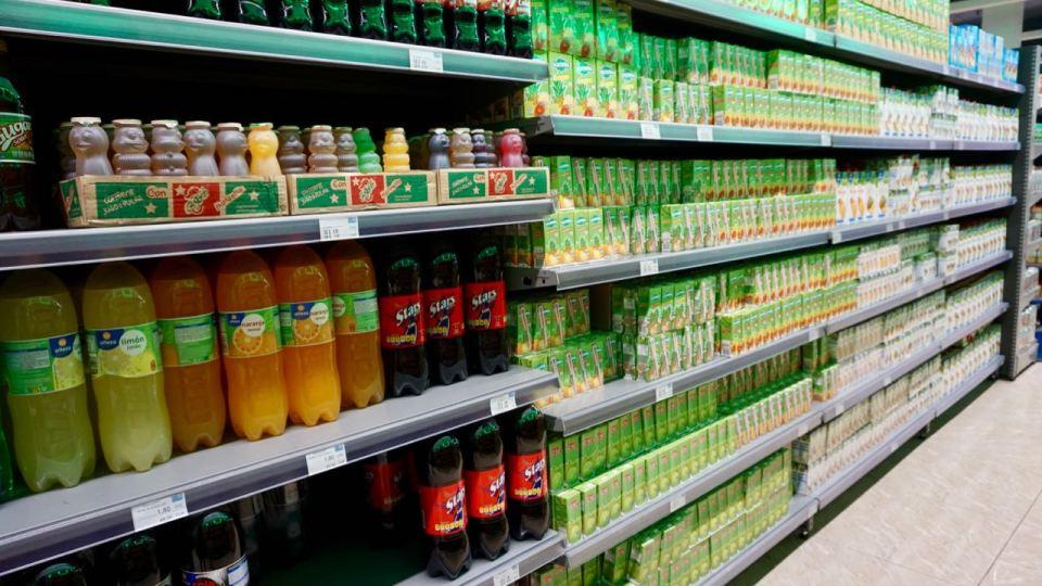 Supermarkt auf Kuba