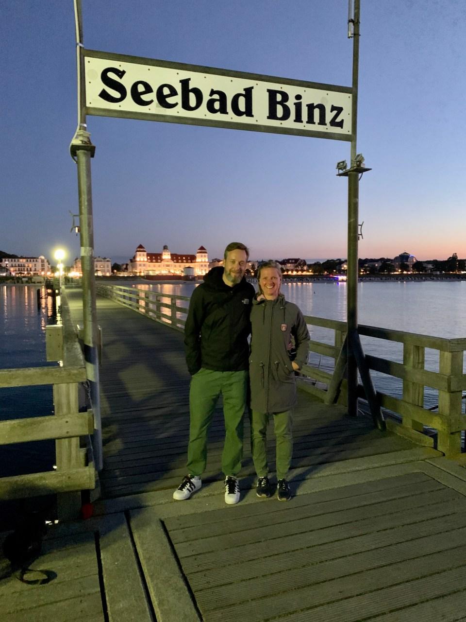 Selfie Seebrücke Binz