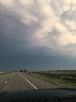 Heading into some weather
