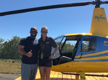 My awesome friend Abi took me up in the Heli