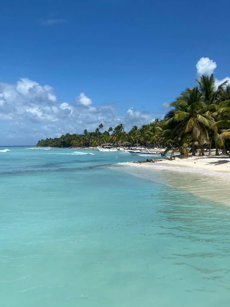 The beautiful beaches of Saona Island