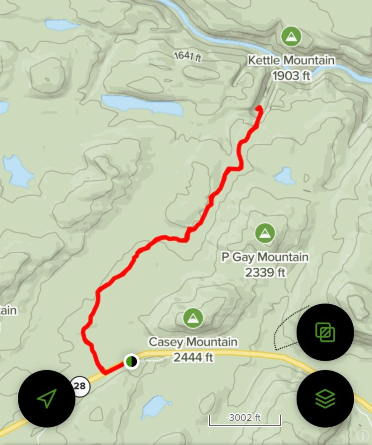 OK Slip All Trails Map