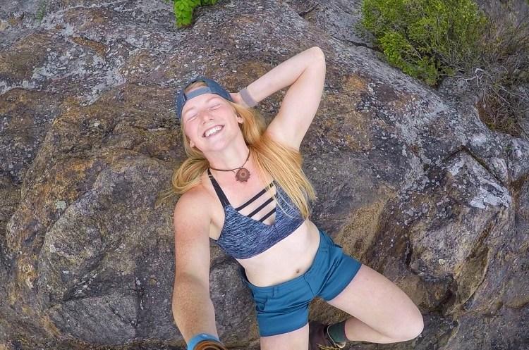 Solo Hiking Selfies