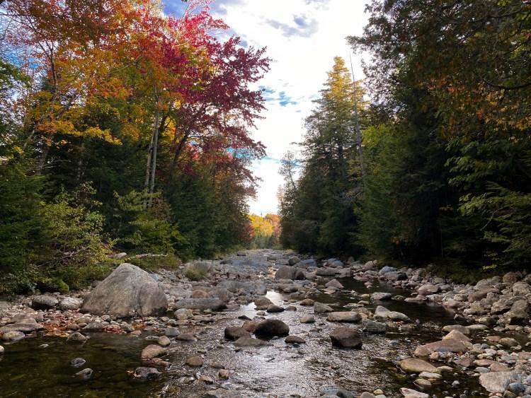 Fall views in the Adirondacks