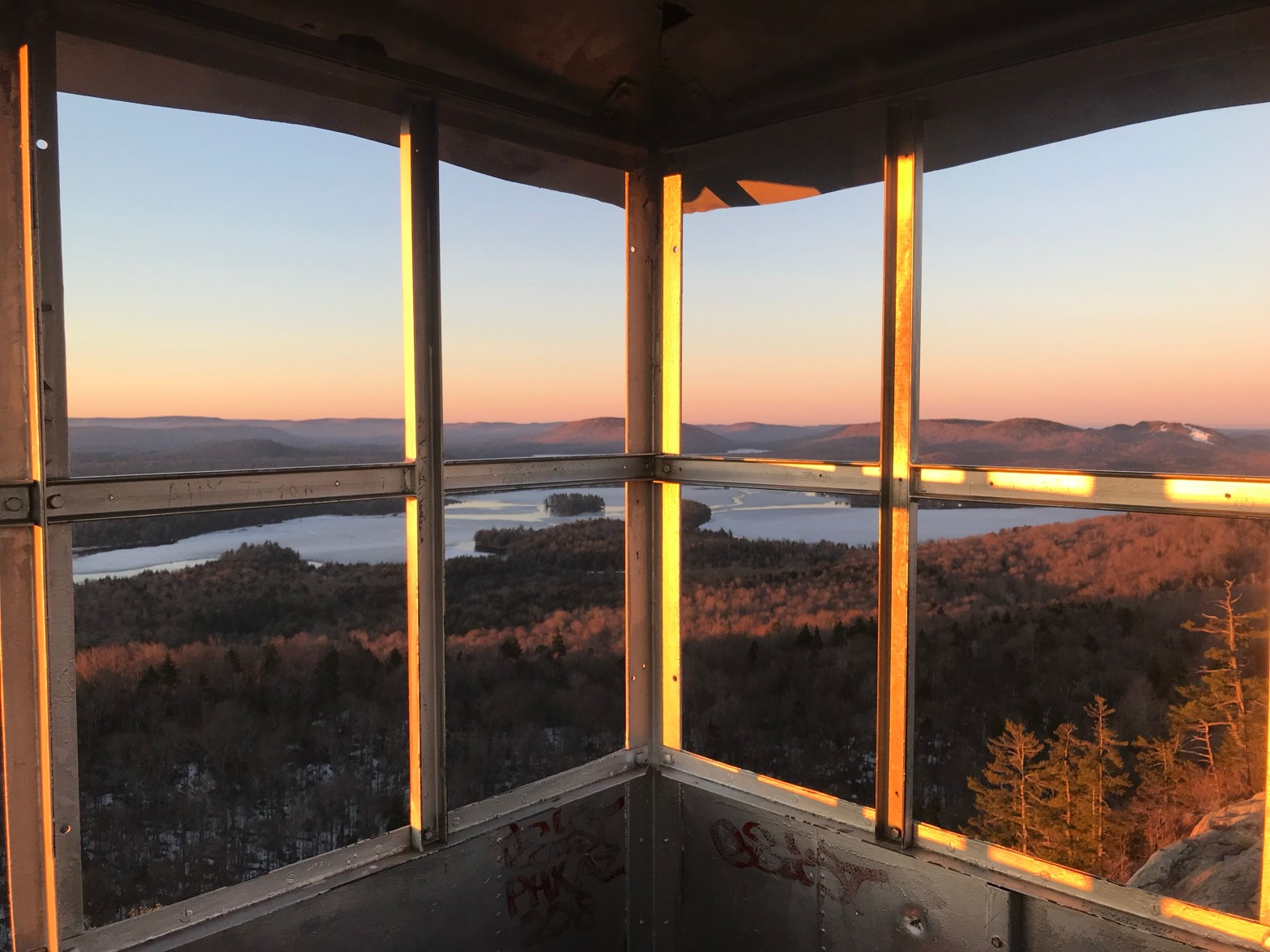 Beautiful Sunrise Hikes in Old Forge