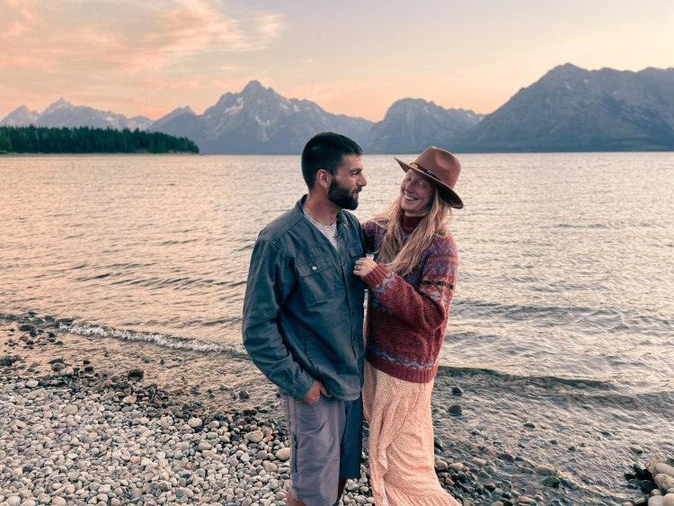 The perfect evening in Grand Teton National Park
