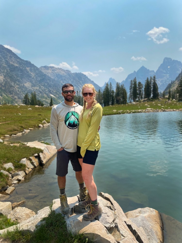 Lake Solitude and Cascade Canyon Grand Tetons