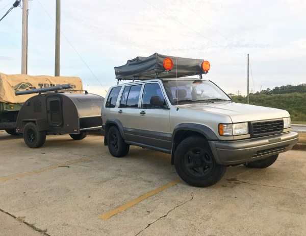 Isuzu Trooper Expedition Build - Year of Clean Water