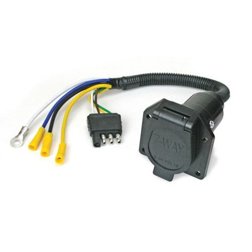 small resolution of 4 pin to 7 pin wiring adapter rental