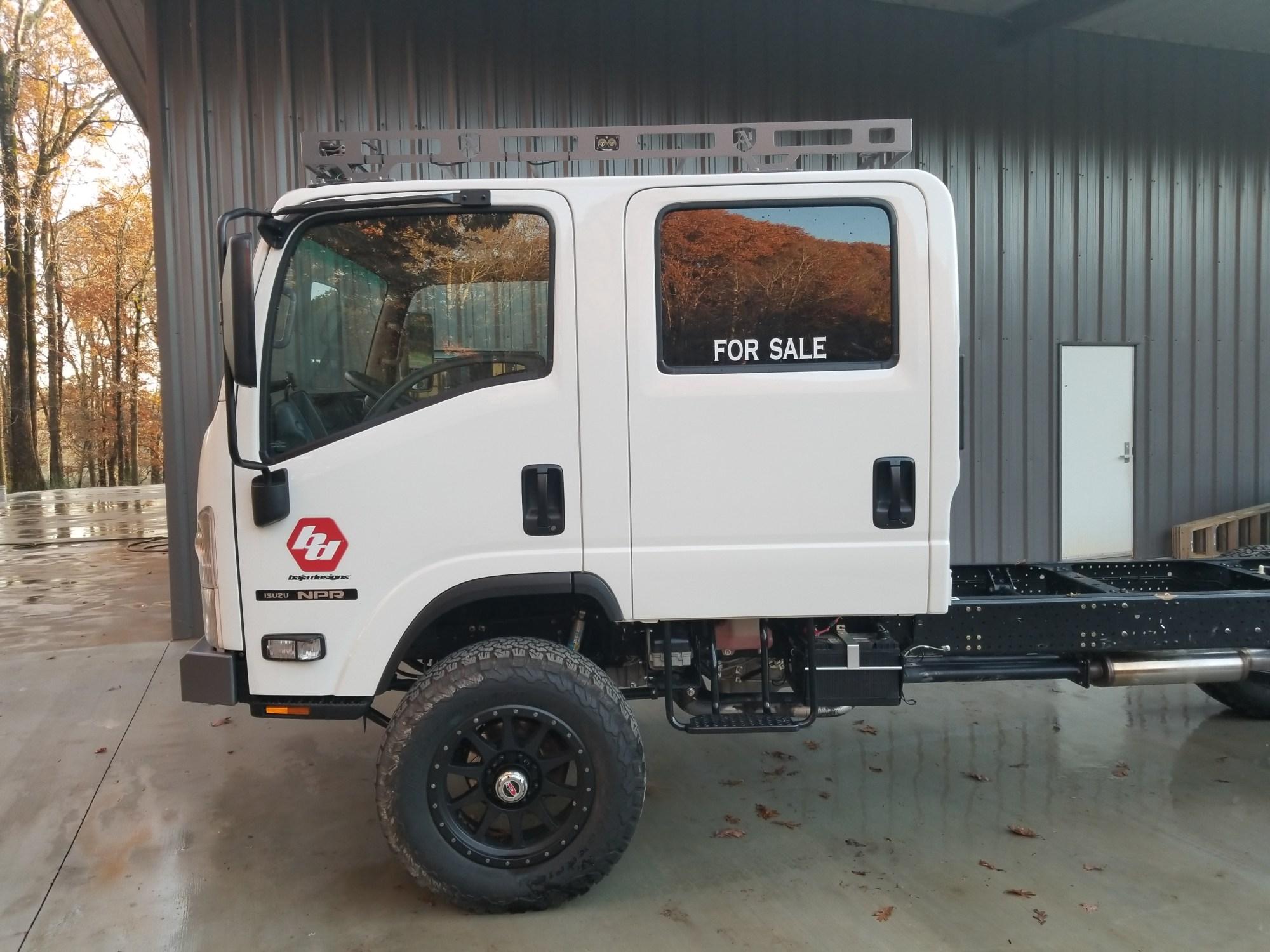 hight resolution of 2015 isuzu npr crew cab 4x4 ultimate expo vehicle expedition portal